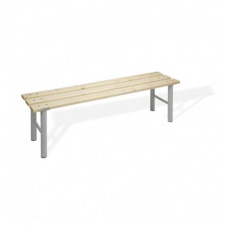 Universální lavice do šaten,šedá (LS 150)