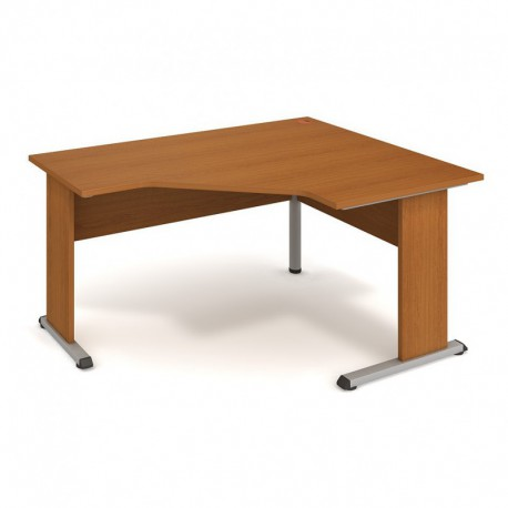 Stůl ergo levý 160*120cm, Hobis Proxy (PEV 80 L)
