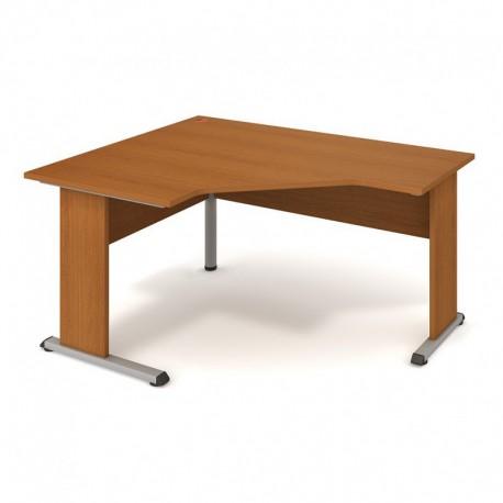 Stůl ergo pravý 160*120cm, Hobis Proxy (PEV 80 P)