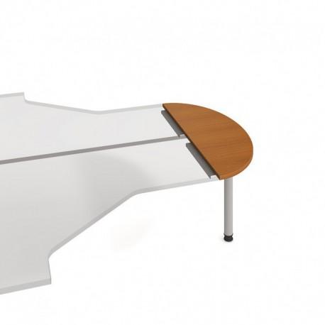 Stůl zakončovací oblouk 120cm, Hobis Proxy (PP 120)