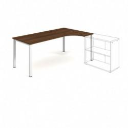 Kancelářský stůl Hobis UNI   ergonomický  180cm (UE 1800L )
