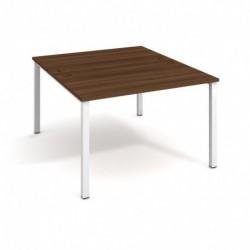 Kancelářský stůl Hobis UNI   zdvojený  120cm (USD 1200)