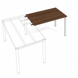 Kancelářský stůl Hobis UNI   pro řetězení  120cm (US 1200 RU)