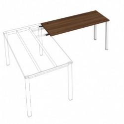 Kancelářský stůl Hobis UNI   pro řetězení  140cm (UE 1400 RU)