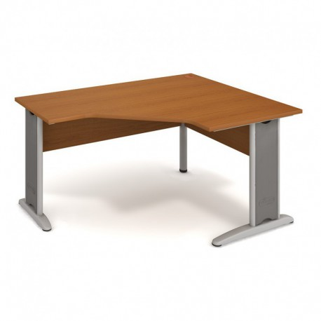 Stůl ergo levý 160*120cm, Hobis Cross (CEV 80 L)