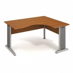 Stůl ergo levý 160*120cm, Hobis Cross (CE 2005 L)