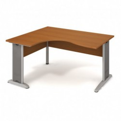Stůl ergo pravý 160*120cm, Hobis Cross (CE 2005 P)