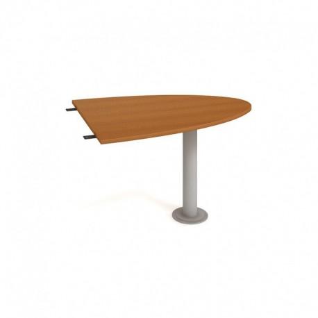 Stůl jednací elipsa 120cm, Hobis Cross (CP 1200 2)