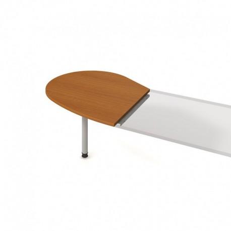 Stůl jednací levý podél 98cm, Hobis Cross (CP 20 L P)