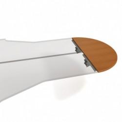 Stůl zakončovací oblouk 160cm, Hobis Cross (CP 160)