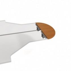 Stůl zakončovací oblouk 120cm, Hobis Cross (CP 120)
