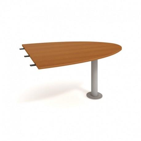 Stůl jednací elipsa 150cm, Hobis Flex (FP 1500 2)
