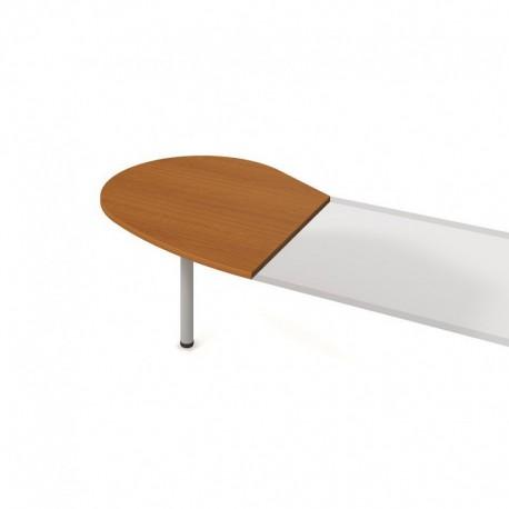 Stůl jednací levý podél 98cm, Hobis Flex (FP 20 L P)
