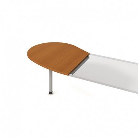 Stůl jednací levý napříč 98cm, Hobis Flex (FP 20 L N)