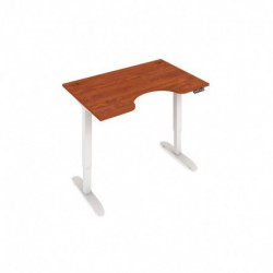 Elektricky výškově stavitelný stůl Hobis Motion  120 cm, s paměťovým ovladačem (MSE 2M 1200)