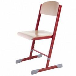 nastavitelná podnož, sedák a opěrák – buková překližka