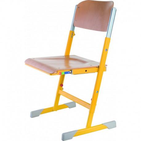 nastavitelná podnož, nastavení hloubky sedáku a výšky opěráku, sedák a opěrák – buková překližka
