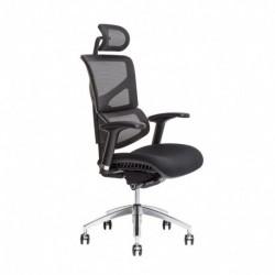 Kancelářská židle s podhlavníkem, IW-04, modrá (MEROPE SP)