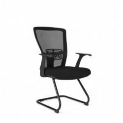 Jednací židle, TD-14, červená (THEMIS MEETING)