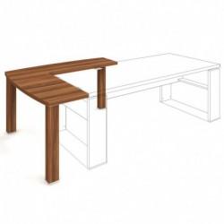 Stůl přídavný 140x140 levý Exner Expo+ (ED 1 140 L)