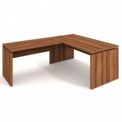 Stůl psací 180x80 + přídavný 120x70 levý Exner Assist (AS 180 L)