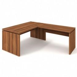 Stůl psací 180x80 + přídavný 120x70 pravý Exner Assist (AS 180 P)