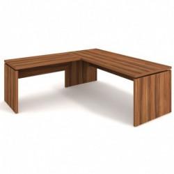 Stůl psací 220x80 + přídavný 120x70 levý Exner Assist (AS 220 L)