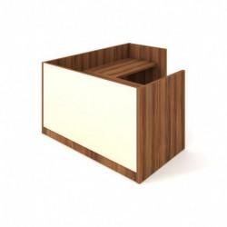 Recepce 160 + přídavný stůl 120x60 pravý Exner Assist (ARS 160 P S)