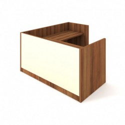 Recepce 180 + přídavný stůl 120x60 pravý Exner Assist (ARS 180 P S)