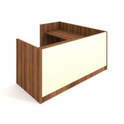 Recepce 200 + přídavný stůl 120x60 levý Exner Assist (ARS 200 L S)