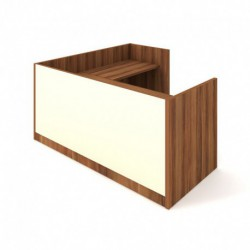 Recepce 200 + přídavný stůl 120x60 pravý Exner Assist (ARS 200 P S)