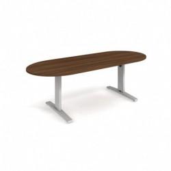 Jednací stůl ovál 220 x 100 Exner Exact (XJ3 220)