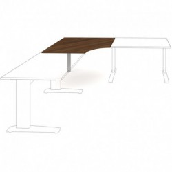 Přídavný stůl 120 x 120 Exner Exact (XDV6 120)