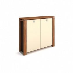 Skříň dvoudveřová, skleněné dveře Exner Expo+ (E 3 2 01 K)