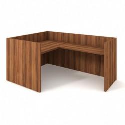 Recepce 160 + přídavný stůl 120x60 pravý Exner Assist (ARS 160 P)