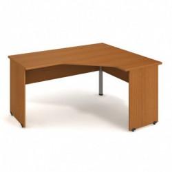 Stůl ergo levý 160*120cm Hobis Gate (GEV 60 L)