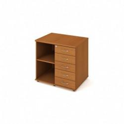 Skříň kon stol pravá podél 80cm (SPKZ 80 60 P P)