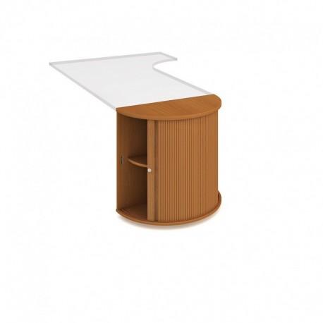 Skříň roletová stolová 80cm (SPR U)