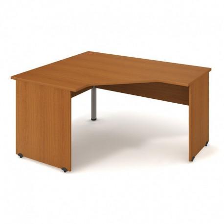 Stůl ergo pravý 160*120cm Hobis Gate (GEV 80 P)