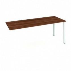 Stůl jednací rovný délky 180 cm k řetězení (UJ 1800 R)