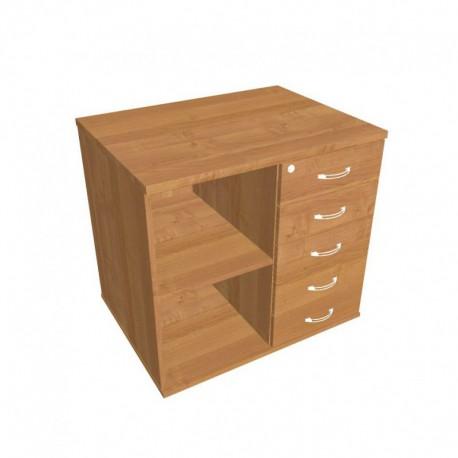 Skříň kon stol pravá napříč 80cm (SPKZ 80 60 P N)