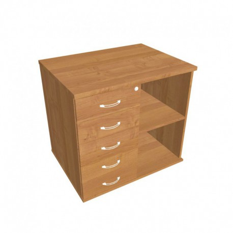 Skříň kon stol levá napříč 80cm (SPKZ 80 60 L N)