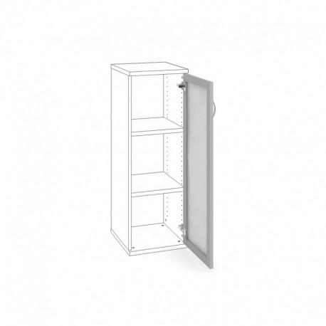 Dveře AL + mléčné sklo pravé (DSH 3 1 P)
