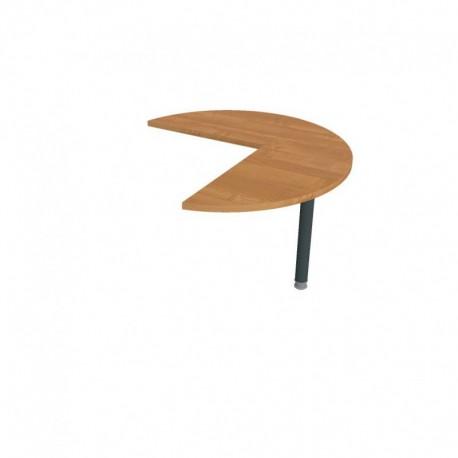 Stůl jednací pravý pr100cm Hobis Gate (GP 21 P)