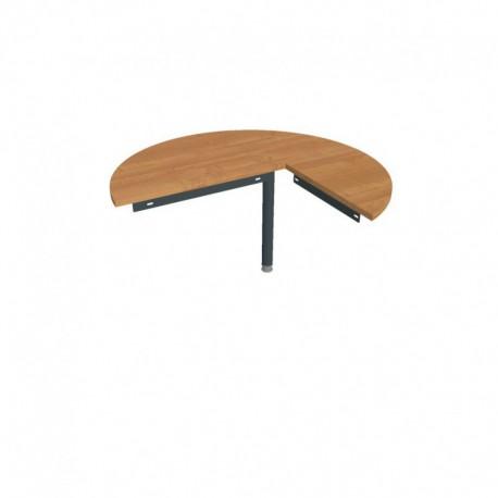Stůl jednací levý napříč pr120cm Hobis Gate (GP 22 L N)