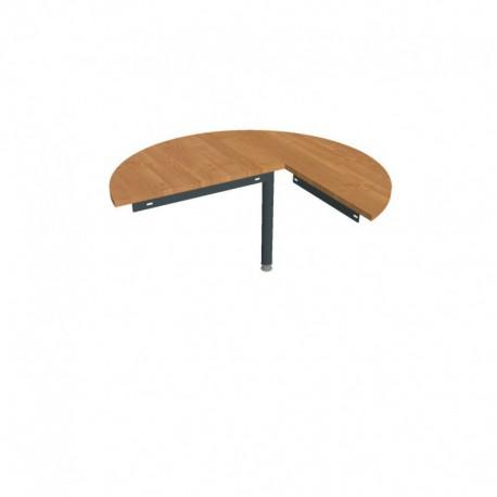 Stůl jednací levý podél pr120cm Hobis Gate (GP 22 L P)