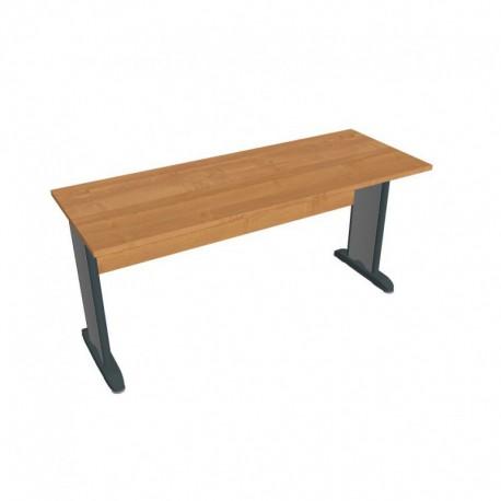 Stůl pracovní rovný 160cm hl60, Hobis Cross (CE 1600)