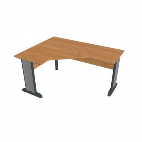 Stůl ergo pravý 160*120cm, Hobis Cross (CEV 60 P)