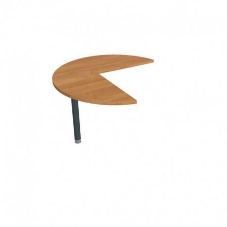 Stůl jednací levý pr100cm, Hobis Cross (CP 21 L)