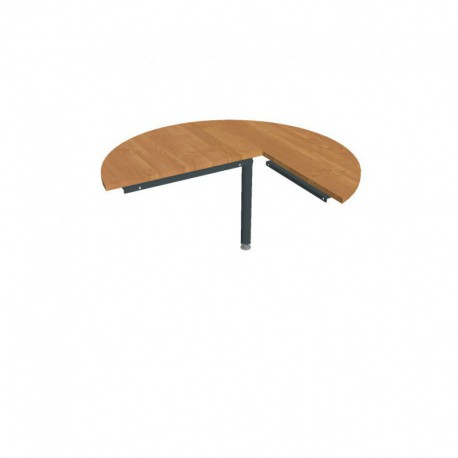 Stůl jednací levý podél pr120cm, Hobis Cross (CP 22 L P)